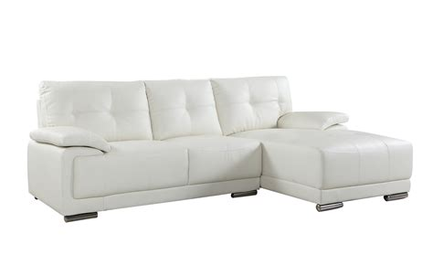 classic tufted faux leather sectional living room sofa