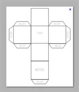 How To Make A Cube Template by 8 Best Images Of Make A Cube Out Of Paper Template How
