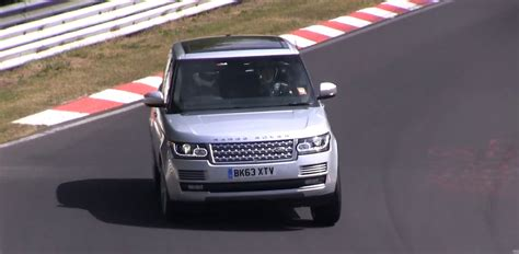 land rover track 2015 range rover undergoing track testing at the
