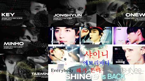 Shinee Creaive 2 shinee everybody 2 wallpaper by raerim