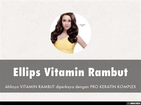 Vitamin Rambut Go Ellips Vitamin Rambut
