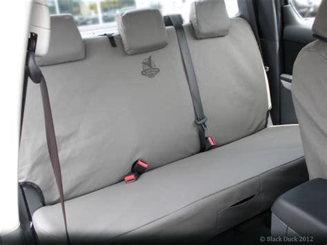 ford ranger bench seat cover px ranger xl xls xlt wildtrak dual cab black duck