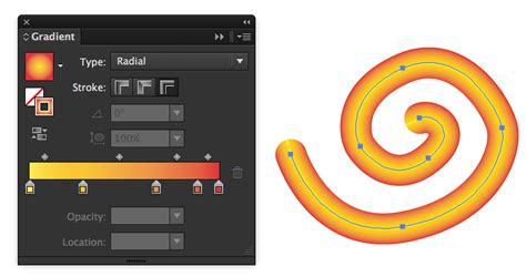 adobe illustrator pattern along path cs6 is it possible to make a gradient follow a path in