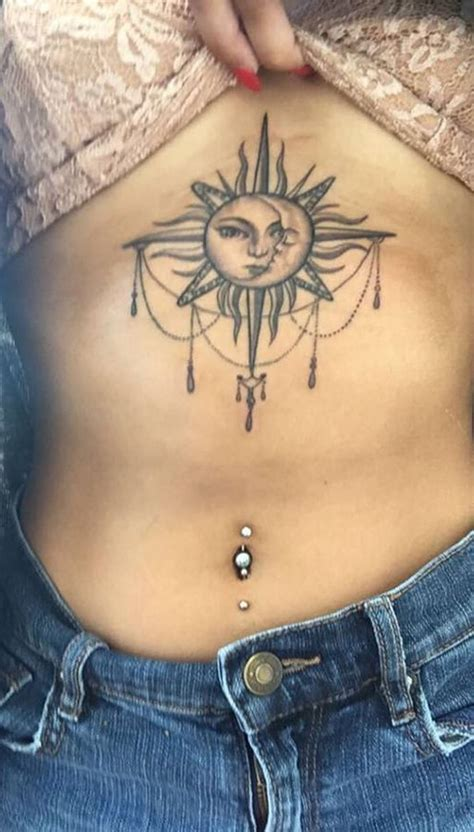 female sternum tattoo 30 feminine sternum ideas for mybodiart
