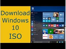 Download windows 10 official ISO all version & all ... Windows 10 Download 64 Bit Iso