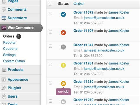 Plus Order Status by The New Order Status Icons Coming To Woocommerce 2 0