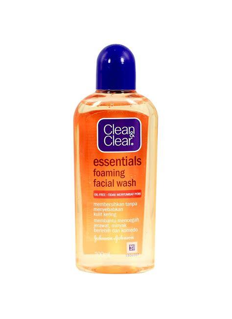 Pembersih Wajah Clean And Clear clean clear foaming wash btl 100ml klikindomaret