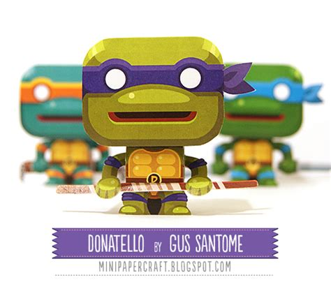Mutant Turtles Papercraft - awesome papercraft models