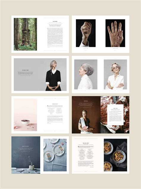 Photo Essay Layout Magazine by Kinfolk Magazine Features Photo Essays Fashion Design And Most Notably Food And Entertaining