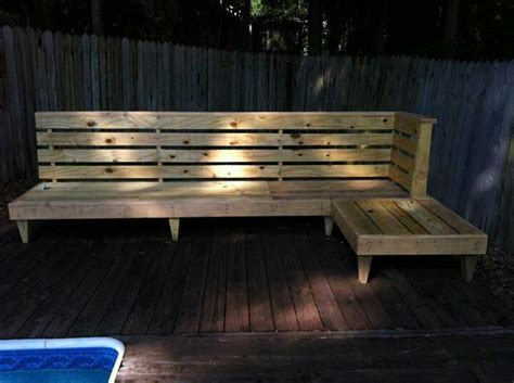 building a wood bench seat diy outdoor bench seating outdoor pinterest