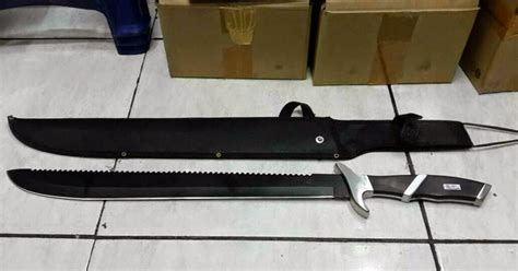 Golok Taichi Wushu Combat pabrik pedang katana samurai senjata silat jual buat export golok survival