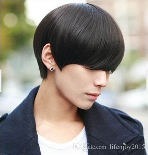 2017 America And Europe Hot Sell Mens Wigs Short Hair Men Synthetic Hair Male Wig Man Hair Wigs