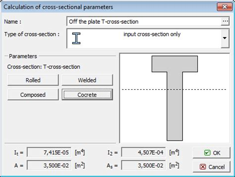 kinds of sectioning types of cross section beams geo5 online help