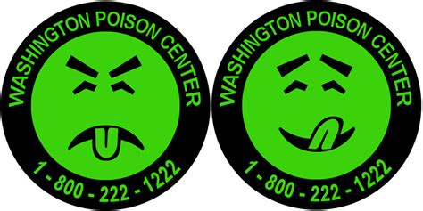 Mr Yuk Stickers Washington State