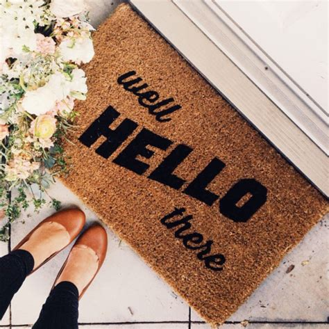 House Welcome Mats Where To Find The Cutest Doormats Glitter Inc