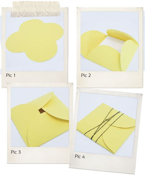 How To Make An Envelope Out Of Wrapping Paper - i do it yourself inviting ideas petal envelopes