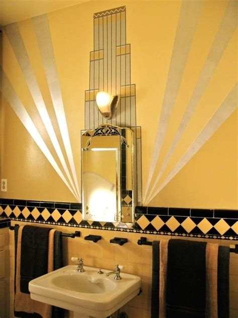 art deco bathroom decor 27 interior designs with bathroom art messagenote