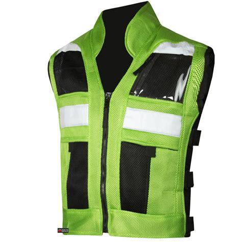 Green Vest vt motorcycle green reflective visibility base vest ebay
