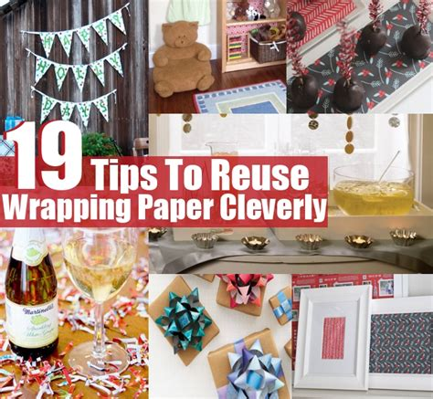 diy how to reuse your 19 tips to reuse wrapping paper cleverly diy home things
