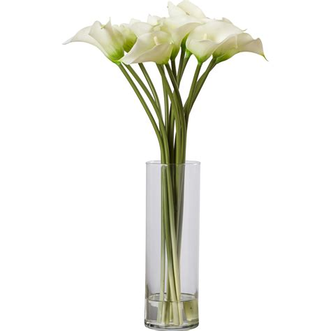You Place The Flowers In The Vase by House Of Hton Calla Flower Arrangement In Flower