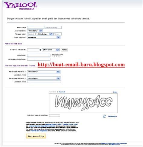 buat email ke yahoo cara buat email baru di yahoo seputar email