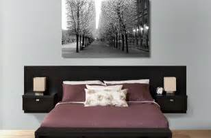 series 9 designer wall mounted headboard with 2