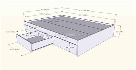 dimensions of a queen size bed queen size bed frame length and width queen size bed amp