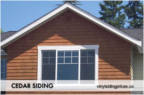 Cedar Clapboard Siding Prices - cedar siding prices shingle material installation costs