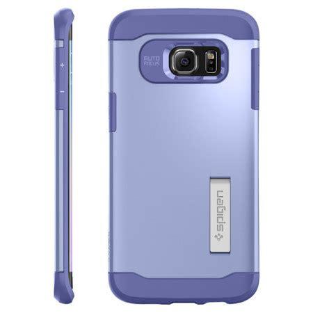Spigen Samsung Galaxy S6 Edge Slim Armor Mobile Yellow spigen slim armor samsung galaxy s6 edge plus violet
