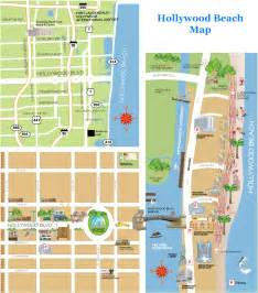 florida boardwalk map hollywoodbeachfl net