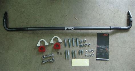 Front Anti Roll 22 Mm For Honda Civic Nouva Ultra Racing garage auto asr anti roll bar civic ek eg 24mm complete kit