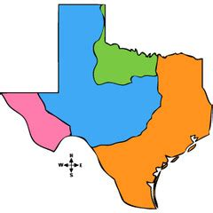 four regions of texas map map four regions of texas pictures to pin on pinsdaddy