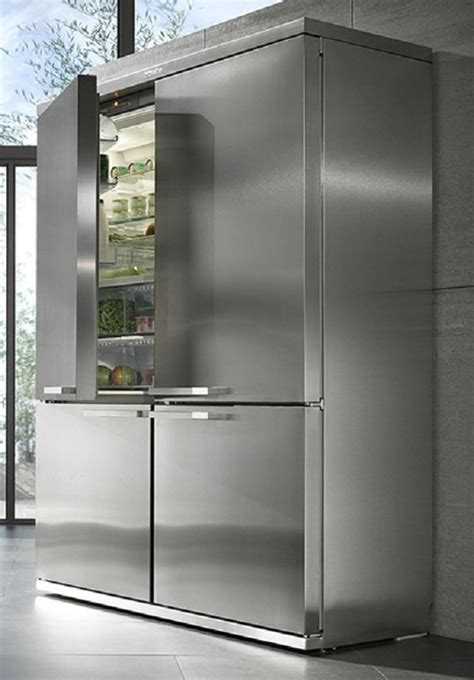 oversized refrigerator miele grand froid 4 door refrigerator is a rich foodie s