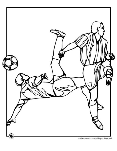 soccer coloring pages for kids az coloring pages