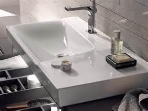 waschtisch xeno keramag xeno 178 waschtisch mit ablagefl 228 che baddepot de