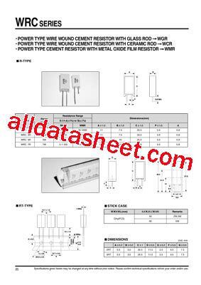 all resistors datasheet wire wound resistor datasheet 28 images knpa1wj0220a10 royal ohm resistor wire wound tme