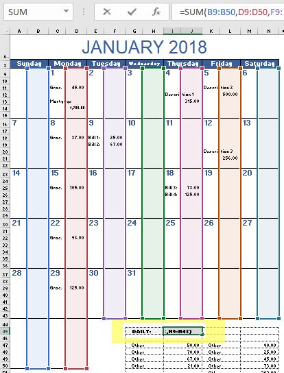 Budget Calendar Template Image Collections Template Design Ideas Budget Calendar Template