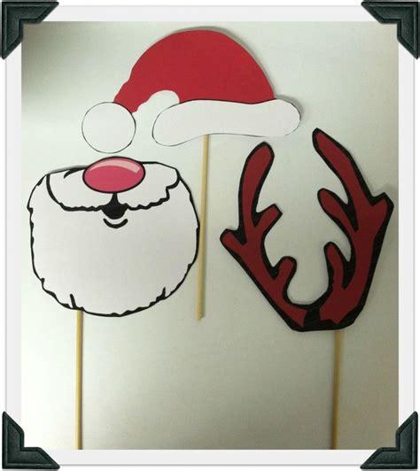 printable xmas photo props printable christmas photo props crafts christmas