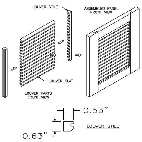 Kitchen Cabinet Sliding Shelves Door Inserts 36 Wood Kitchen Cabinet Louver Panel Door