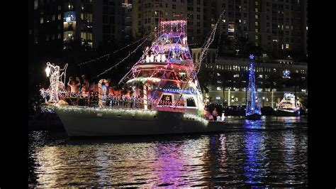 boat light up fort lauderdal christmas photos 2015 winterfest boat parade southflorida