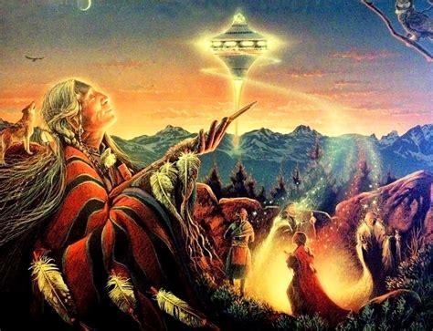 nativos americanos falam de sua origem extraterrestre