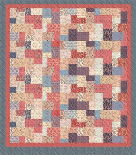 quilt pattern using layer cake double sliced layer cake quilt tutorial quilting pinterest