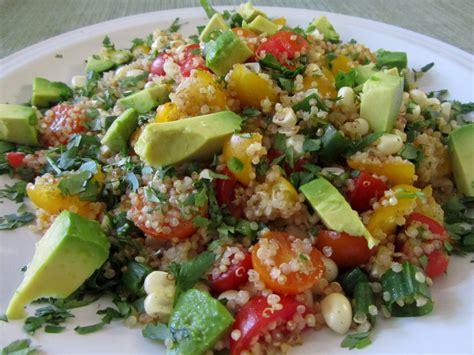 quinoa salad chourico and quinoa salad salada de quinoa chourico