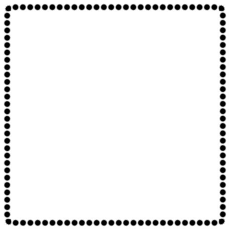 dot pattern border black and white polka dot page border clip art clipart best