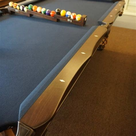 Pool Table Rails Replacement by Scalloped Rails A E Schmidt Billiard Company