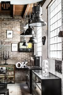 Industrial Chic Home Decor by Brick Walls Industrial Chic Home Decor Home Design
