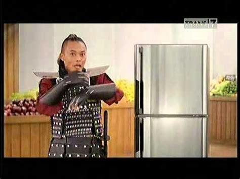 Lemari Es Krim Walls iklan lemari es sharp samurai es krim bersama sule