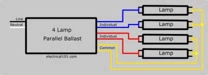ballast wiring diagrams electrical 101