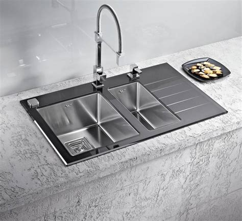 kitchen sinks and faucets designs stainless steel kitchen sinks and modern faucets