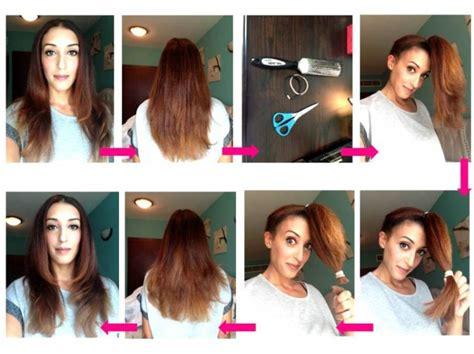 tutorial gunting rambut layer cara mudah memotong sendiri rambut dengan model layer